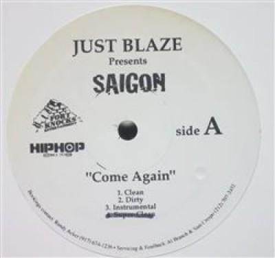 Saigon - Come Again / Letter P