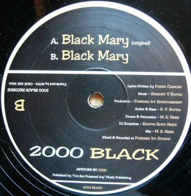 Pariss Clemons - Black Mary
