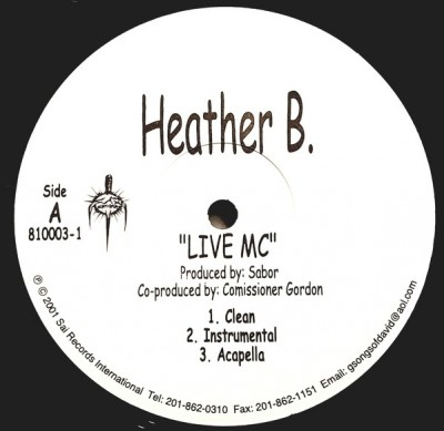 Heather B. - Live MC