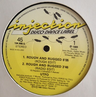 UTFO - Rough and Rugged/my Cut's Correct