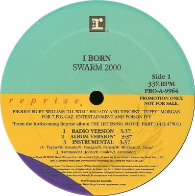 I-Born - Swarm 2000 / I Know