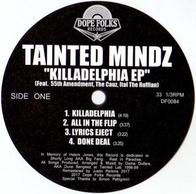 Tainted Mindz - Killadelphia EP