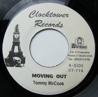 Tommy McCook - Movin Out / Dance With Me