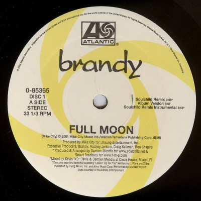 Brandy - Full Moon