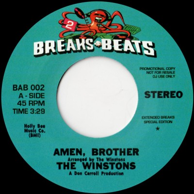 The Winstons / The Chosen Few - Amen, Brother / Candy I'm So Doggone Mixed Up