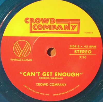 Crowd Company - Saw You Yesterday / Can't Get Enough