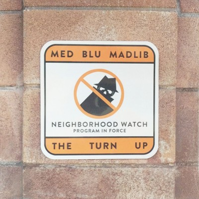 MED / Blu / Madlib - The Turn Up