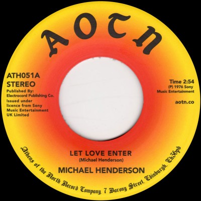 Michael Henderson - Let Love Enter / Come To Me