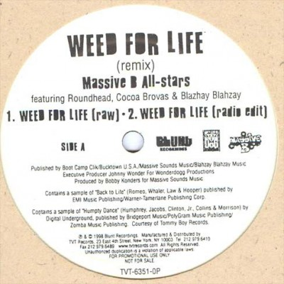 Massive B All Stars - Weed For Life Remix