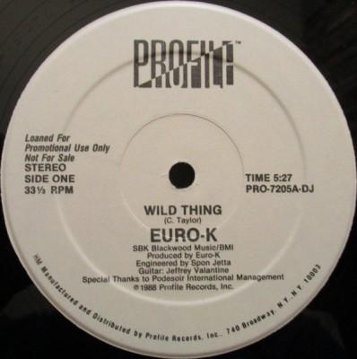 Euro-K - Wild Thing