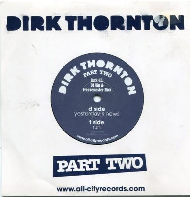 Dirk Thornton - Yesterday's News / Run (Dirk Thornton Part II EP)