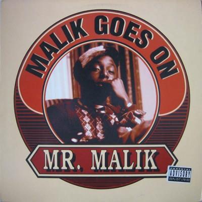 Mr. Malik - Malik Goes On