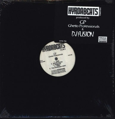Ghetto Professionals / DJ Fusion - Hydra Beats Volume 6