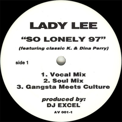 Lady Lee - So Lonely 97 / Good All Over