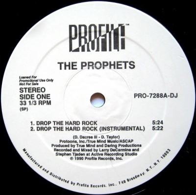 The Prophets - Drop The Hard Rock