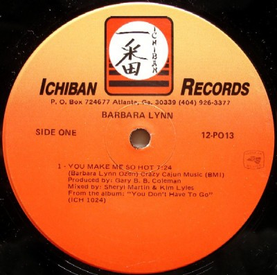 Barbara Lynn - You Make Me So Hot