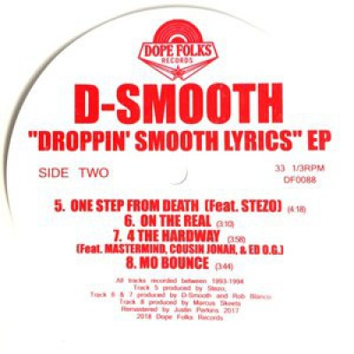 D-Smooth - Droppin' Smooth Lyrics EP