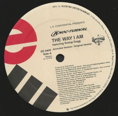 Knoc-Turn'al Featuring Snoop Dogg - The Way I Am