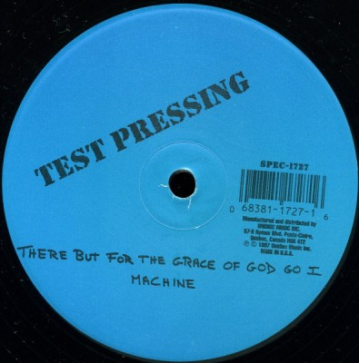 Machine / Visual - There But For The Grace Of God Go I (Bootleg Mix) / The Music Got Me (Bootleg Mix)