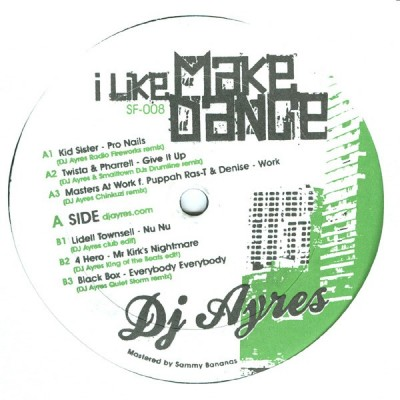 DJ Ayres - I Like Make Dance