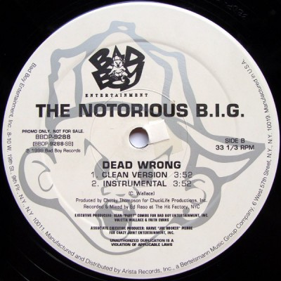 Notorious B.I.G. - Dead Wrong