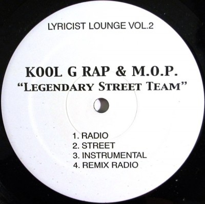 Kool G Rap - Legendary Street Team / Get That Dough