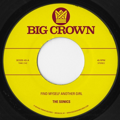 The Sonics, S.C.A.M. - Find Myself Another Girl b/w Spooky