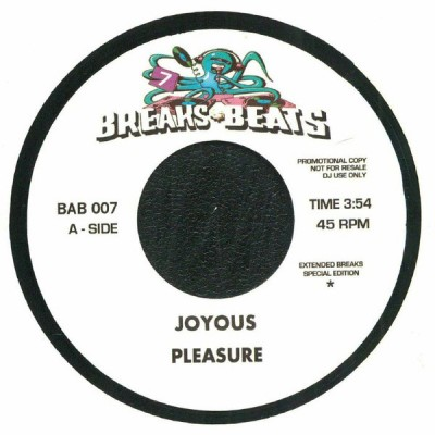 Pleasure / Rusty Bryant - Joyous / Fire Eater