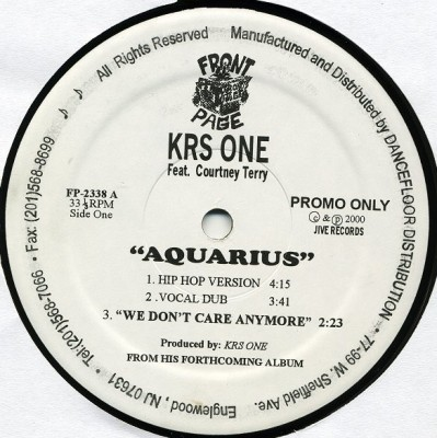 KRS-One - Aquarius