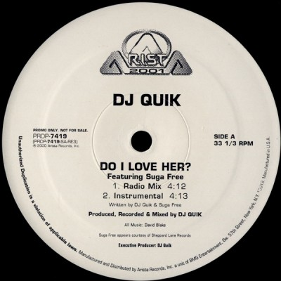 DJ Quik - Do I Love Her?