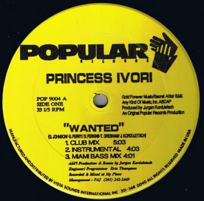 Princess Ivori - Wanted