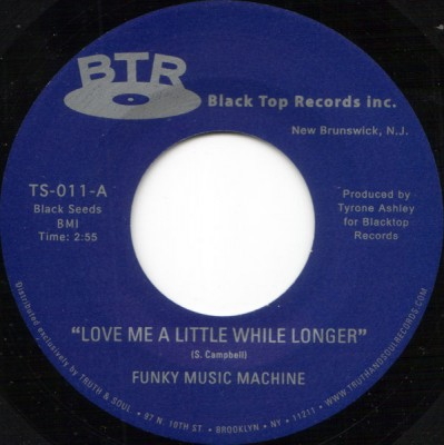 Funky Music Machine - Love Me A Little While Longer / I Can't Help Myself