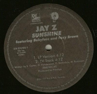 Jay-Z - Sunshine