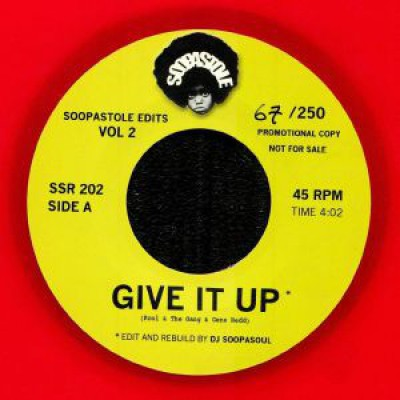 Kool & The Gang - Give It Up / Rock Steady (Red Vinyl Version)