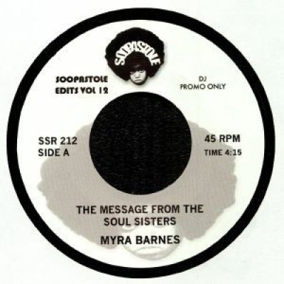 Myra Barnes / Barbara Gwen - The Message From The Soul Sisters / Right On