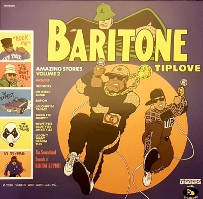 Baritone Tiplove - Amazing Stories Volume 2