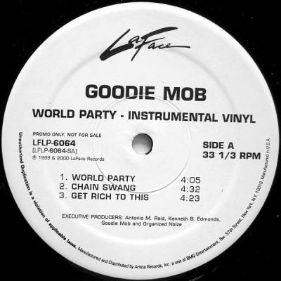 Goodie Mob - World Party (Instrumental Vinyl)