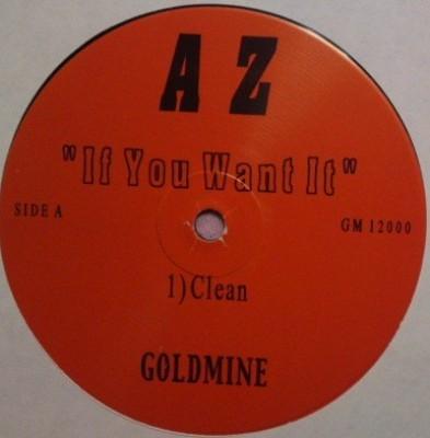 AZ - If You Want It