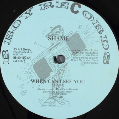 Shame - When Can I See You?