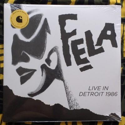 Fela Kuti - Live In Detroit 1986