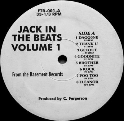 C. Fergerson - Jack In The Beats - Volume 1
