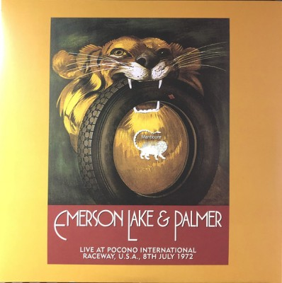 Emerson, Lake & Palmer - Live At Pocono International Raceway, U.S.A., 8th July 1972
