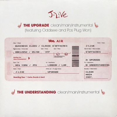 J-Live - The Upgrade / The Understanding