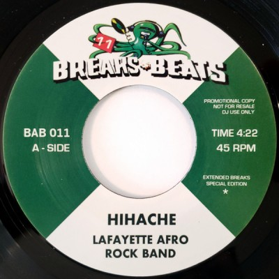Lafayette Afro Rock Band - Hihache / Sing Sing