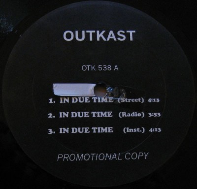 OutKast - In Due Time / B.O.B. (Bombs Over Baghdad)