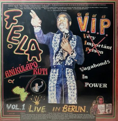 Fela Kuti - V.I.P. / Authority Stealing