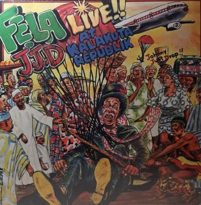 Fela Kuti And Afrika 70 - J.J.D (Johnny Just Drop!!) - Live!! At Kalakuta Republik