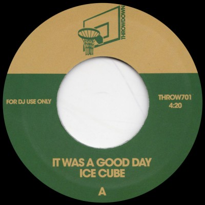 Ice Cube - It Was A Good Day / You Can Do It