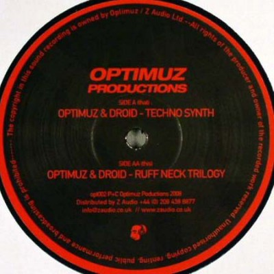 Optimuz - Techno Synth / Ruff Neck Trilogy