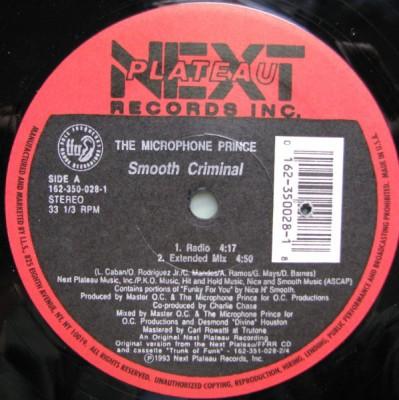 The Microphone Prince - Smooth Criminal